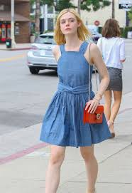 elle fanning summer style outside a nail salon in studio city 06