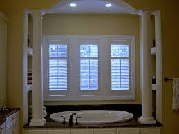 Bathroom Window Blinds Ideas Bathroom Plantation Blinds Bathroom Windows Inside Shower