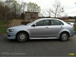 2008 mitsubishi lancer gts in apex silver metallic 020865