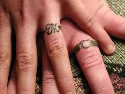 wedding ring tattoos sweet wedding ring tattoos