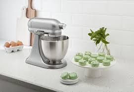 Mini Kitchen Aid Mixer by Kitchenaid Artisan 3 5qt Contour Silver Tilt Head Mini Stand Mixer