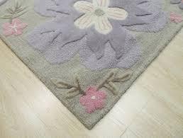Lavender Nursery Rugs The Conestoga Trading Co Gretchenhand Tufted Gray Area Rug