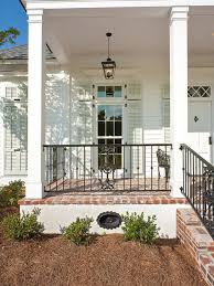 wrought iron fence columns porch ideas u0026 photos houzz
