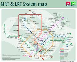 Singapore Map World by Future Map Singapore Mrt With Future Extensions Transit Maps