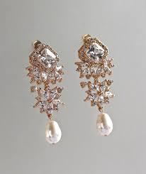 gold bridal earrings chandelier chandelier earrings gold bridal earrings gold pearl