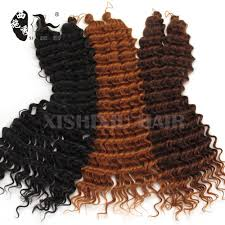 Pre Curled Hair Extensions by Alibaba Express Freetress Pre Loop 3x Deep Synthetic Afro Twist