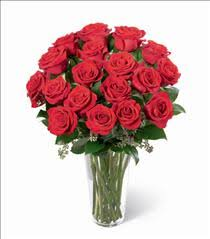 Long Stem Rose Vase Beautiful Rose Bouquets By Brant Florist