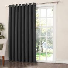 Grommet Blackout Drapes Wide Width Grommet Top Thermal Blackout Curtain Panel 100 Inch