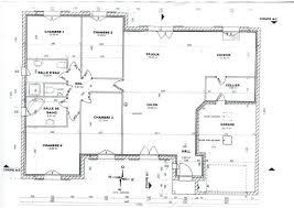 plan de maison plein pied gratuit 3 chambres plan maison plain pied gratuit pdf 4 en u madame plans 0m2 9 co