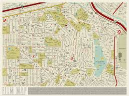 Culver City Map This Beautifully Clever Map Replaces All Of L A U0027s Street Names