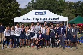 Track Canopy by Cross Country Boys Athletics Union City High