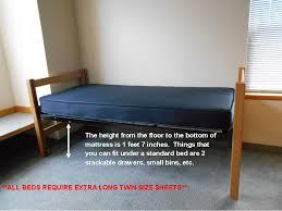 loft kits bunked and raised beds gonzaga university