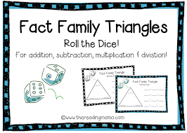fact family triangles free download