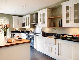 White Shaker Style Kitchen Cabinets Best 25 Black Granite Kitchen Ideas On Pinterest Dark Kitchen