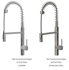 kohler industrial kitchen faucet kraus kpf 1602ss single handle