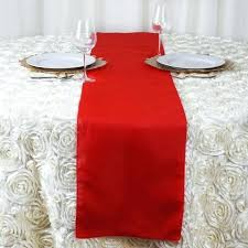 snowflake table top decorations red table runner red polyester runner table top wedding catering