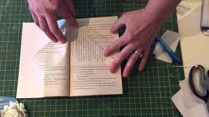 book folding fairy house pattern tutorial youtube