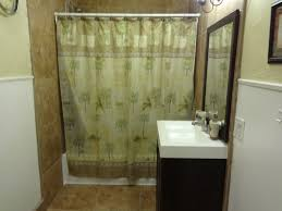 with shower