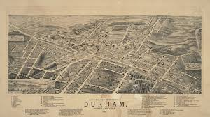 Map Of North Carolina Cities Historic Durham County And City Maps