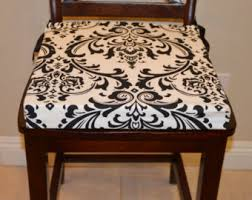 Replacement Dining Chair Cushions Chair Cushion Cover Etsy