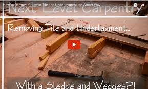 How To Replace Bathroom Subfloor How To Remove A Really Difficult Subfloor Protradecraft
