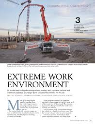 volvo group magazine brundage bone concrete pumping