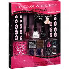 the color workshop art deco nails nail art set 13 pc shoptv