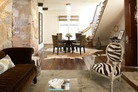 Zebra Dining Room Chairs by Cowhide Zebra Rug Living Room Industrial With Area Rug Concrete