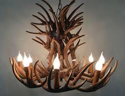 Deer Antler Light Fixtures Table L Ideas Deer Antler Table Ls Europe Brown Resin