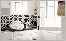 backsplash for black and white kitchen black and white ceramic tile backsplash tiles home decorating