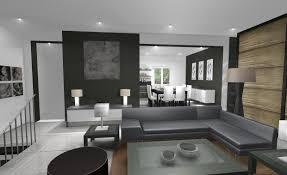 Deco Salon Et Cuisine Ouverte by Idee Amenagement Interieur Humain Sur Dacoration Intarieure Avec