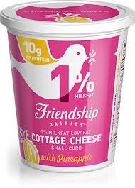 Daisy Low Fat Cottage Cheese by 1 Lowfat No Salt Added Cottage Cheese Friendship Dairies
