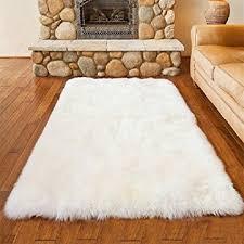 tappeti di pelliccia pelliccia sintetica tappeto vello di pecora dimensioni 50 x 150