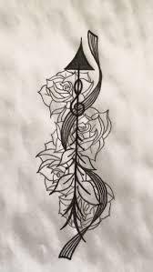 violin tattoo designs best 25 music staff tattoo ideas on pinterest sheet music