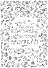 coloring pages on kindness kindness coloring pages printable kindness to others coloring