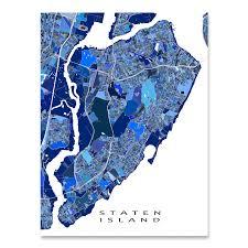New York City Map Staten Island New York City Map Print Usa U2013 Maps As Art