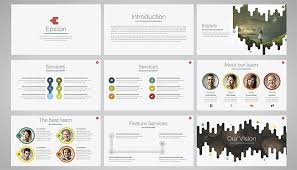 25 free company profile powerpoint templates for business