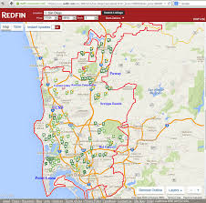 Map Of San Diego by San Diego Real Estate Homes
