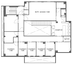 Dental Clinic Floor Plan Bright White Clinic By Ryutaro Matsuuro With Concealed Windows