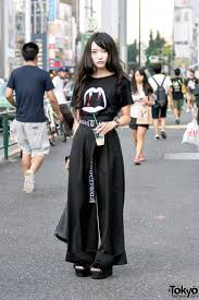best 25 japan style ideas on pinterest japanese beauty tourism haruka on the street in harajuku today wearing a saint laurent vampire shirt g v g v belt