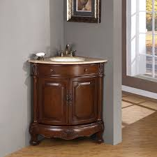 24 Inch Bathroom Vanity Cabinet Bathroom Artistic Brown 24 Inch Bathroom Vanity Cabinet With