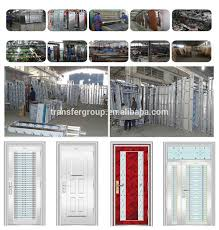 safety door design with grill stainless steel door for main door