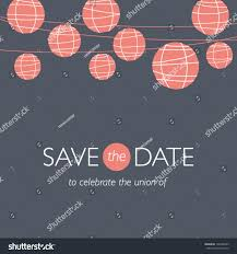 Background Images For Wedding Invitation Cards Wedding Invitation Card Save Date Balloons Stock Vector 126488585