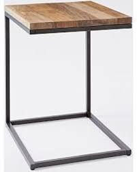 C Side Table Deal Alert Box Frame C Side Table Rustic Mango Antique Bronze