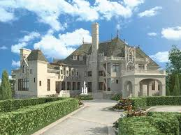 chateauesque house plans a majestic storybook castle hwbdo57072 chateauesque from