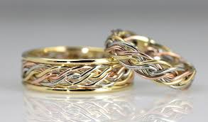 braided wedding band braided unique wedding rings handmade by artist todd alan