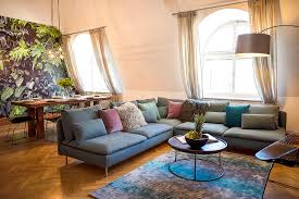 Living Room With Sofa Two Bedroom Melody Apartment Prague 1 Old Town Prague Stay
