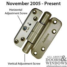 Patio Door Hinges Identifying Andersen Frenchwood Door Hinges