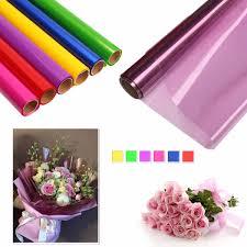 cellophane wrap cellophane wrap paper for florist flower gift box basket