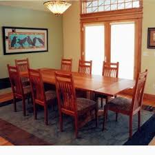 mission dining tables craftsman arts and crafts stickley style